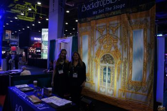 USITT 2015 Show Floor... Backdrops Beautiful