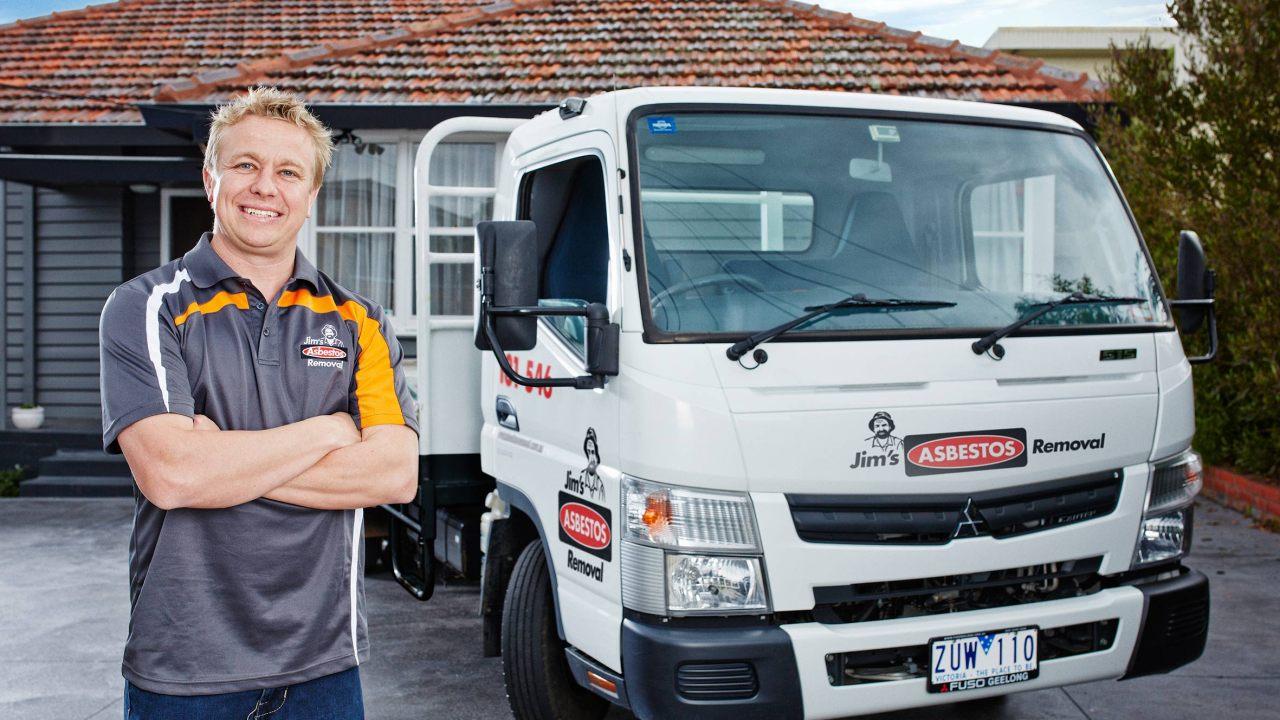 Asbestos Removal Truck