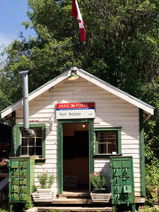 Original Ft. Nelson Post Office