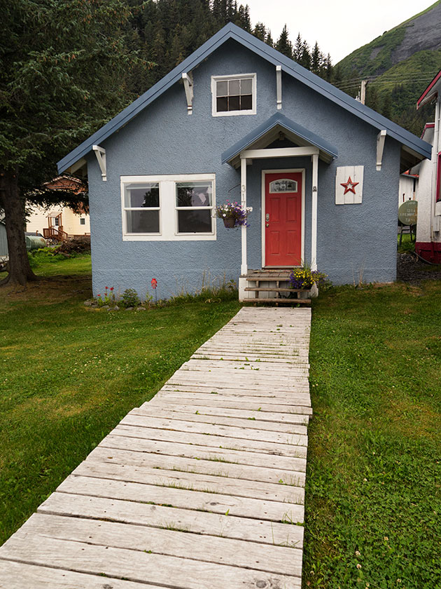 Blue Seward Home