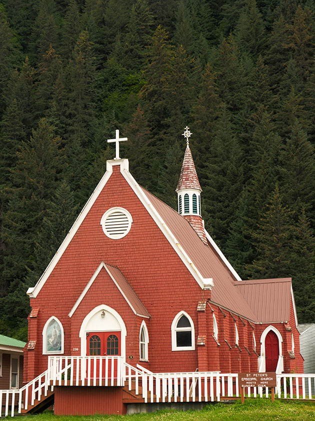 Red Church in Seward
