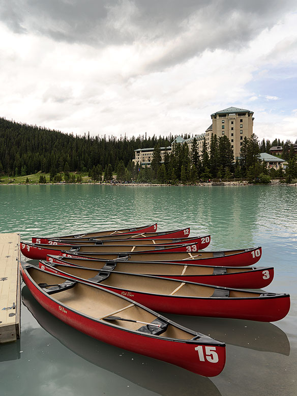 Rental Canoes at Lake Louise