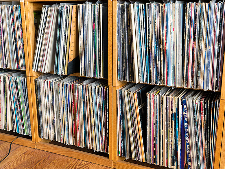 Per Madsen facks loaded with records.