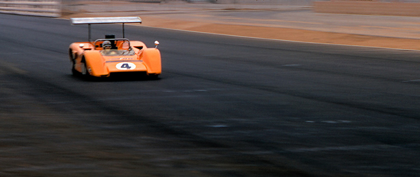 Bruce McLaren at Riverside