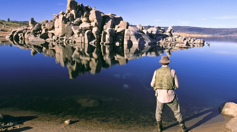 Fishing Lake Jindabyne