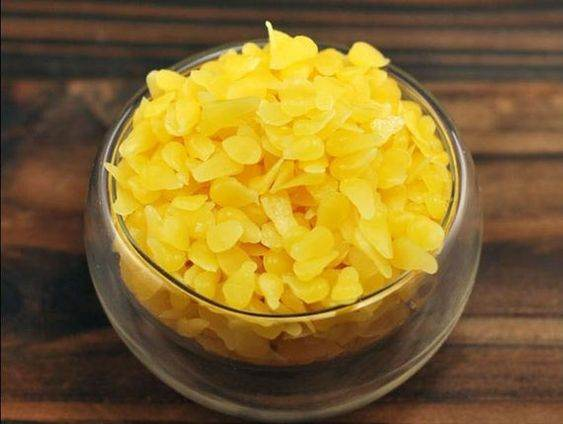 beeswax pellets yellow