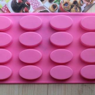 small oval shape soap making mold