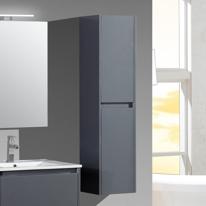 aquadoli colonne salle de bain grise