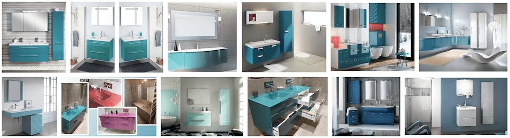 couleurs d une salle de bain