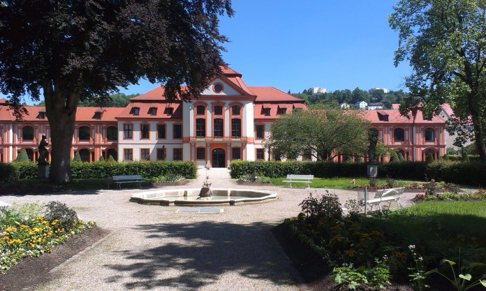 Rozsáhlá univerzita v Eichstattu v Neměcku stojí na trase Svatojakubské poutní cesty