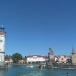 Svatojakubská cesta vede z Lindau lodí přes Bodamské jezero
