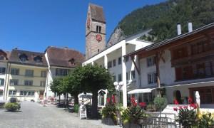 Stará radnice ve Švýcarském Interlakenu