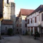 Poutní kostel ve francouzském městě Cajarc