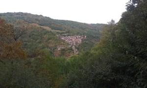 Konec etapy Svatojakubské cesty ve Francii je město Conque