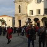 Vynášení panny Marie v Portugalsku v Atouguia da Baleia
