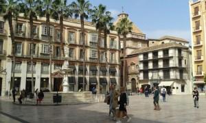 Malaga. Architektura na jihu Španělska v Andalusii