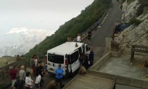 Opice na Gibraltaru vlezou turistům do auta
