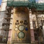 Orloj v Olommouci při Svatojakubské besedě.