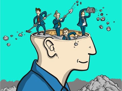 Úklid hlavy, úklid mysli, úklid prostředí, úklid vnějšího prostředí.