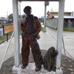 Monumento al Gaucho v Coyhaique v Chile v Patagonii.