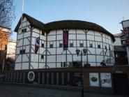 Replika divadla Williama Shakespeara Globe v Londýně na South Bank