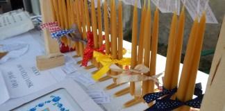 Svíčka, svíce, svíčky, dekorace, dárek, dárkové balení, svíce na stojanu