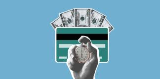 Peníze, kreditní karta a čas