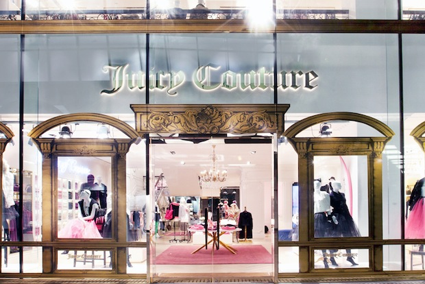Juicy Couture's Beijing flagship in Sanlitun. (Juicy Couture)