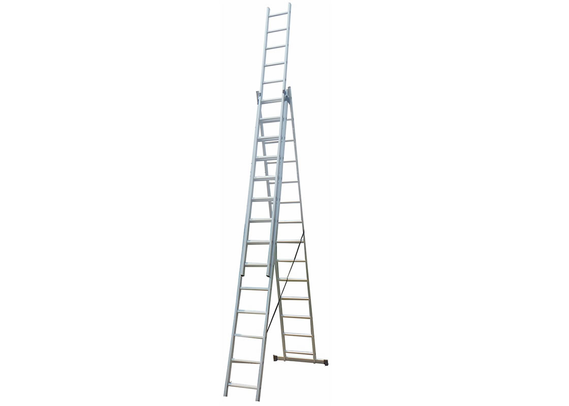 3 Section Extension Ladder 3x12 Rungs
