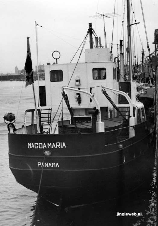 Radio Nord - Magda Maria - Oostende 11.11.1962