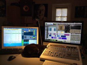 De studio van SoulShow Radio - foto Ferry Maat