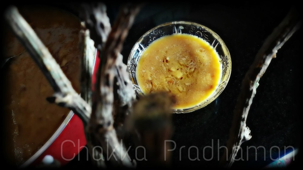 Chakka Pradhaman – Jack fruit pudding~Payasam