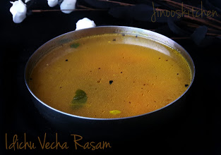 Idichu Vecha Rasam ~ Rasam recipes