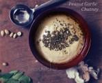 Peanut garlic chutney