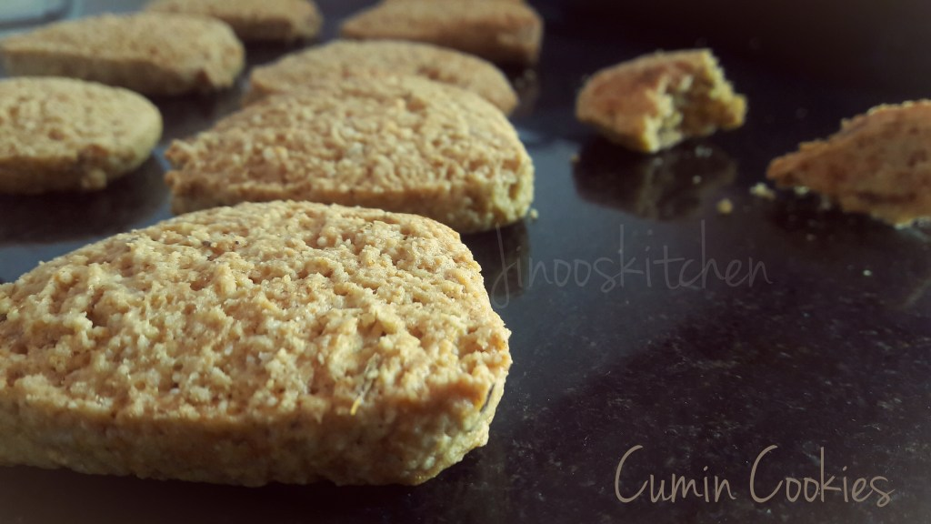 Cumin Cookies – Bakery Style Jeera biscuits
