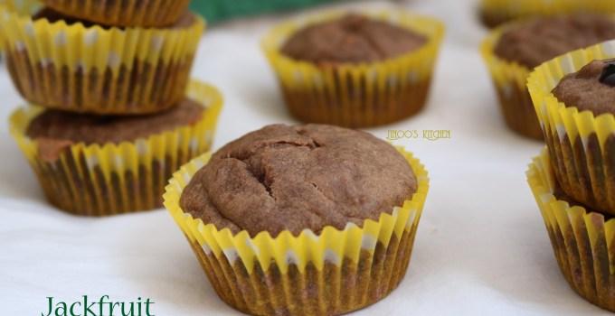 Jackfruit Choco Muffins -Jackfruit muffins