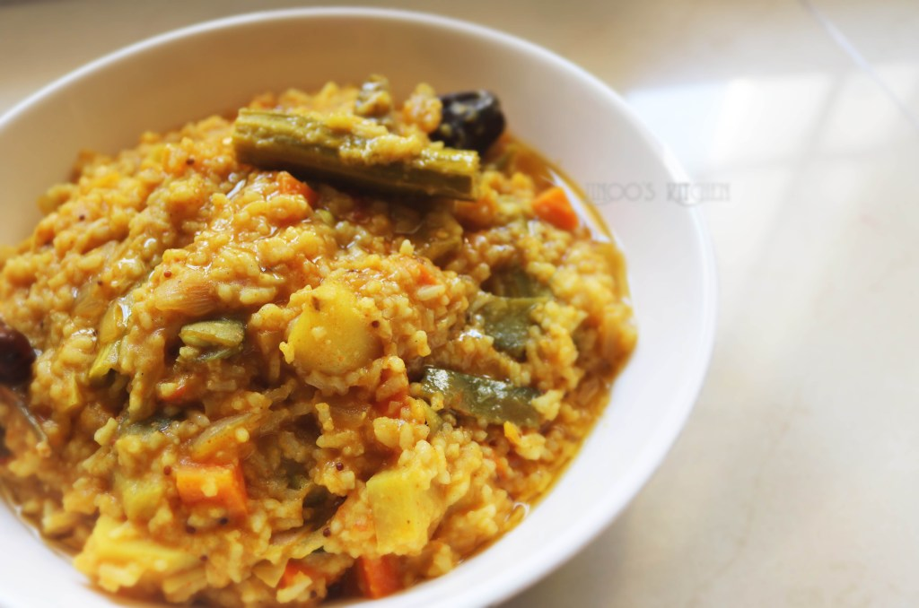 Hotel style sambar sadham | Sambar Sadam recipe