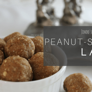 Peanut Sesame Ladoo