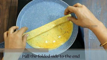 Omelette roll recipe