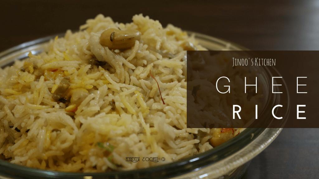 Ghee Rice with Coconut Milk recipe| Malabar Ghee Rice recipe