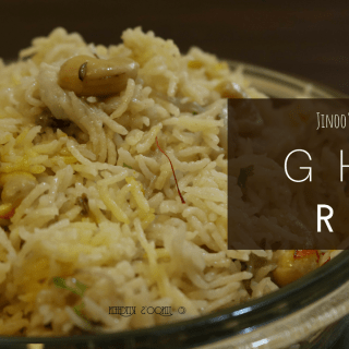 Ghee Rice with Coconut Milk recipe