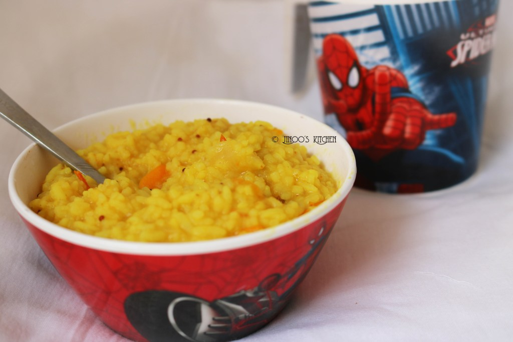 Carrot Khichdi Recipe | khichdi recipe for toddlers
