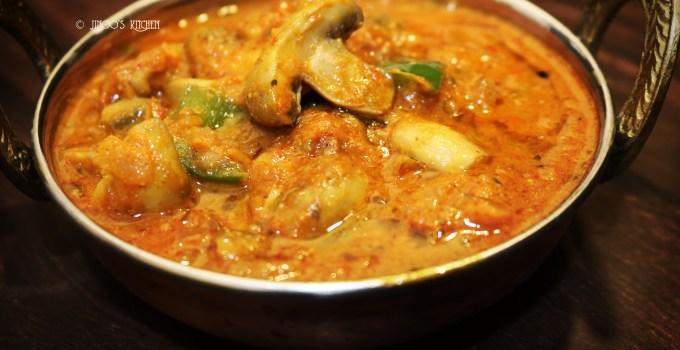 Kadai Mushroom – Kadai Mushroom Gravy Recipe