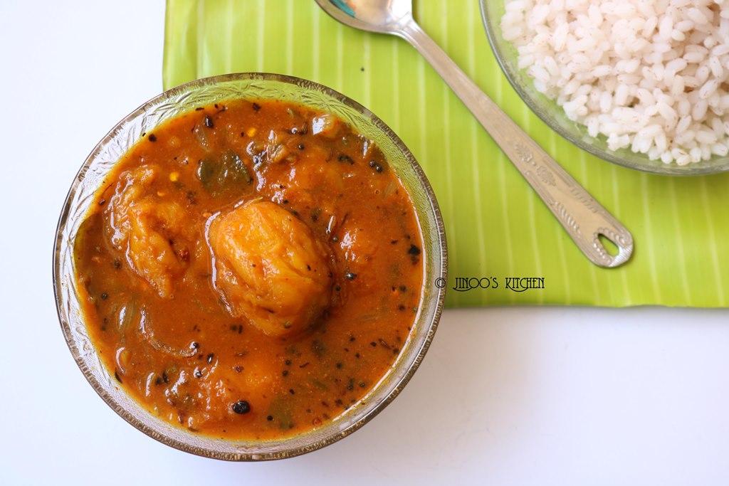Mambazha kuzhambu recipe | easy ripe mango curry without coconut | pazha manga kootan without curd