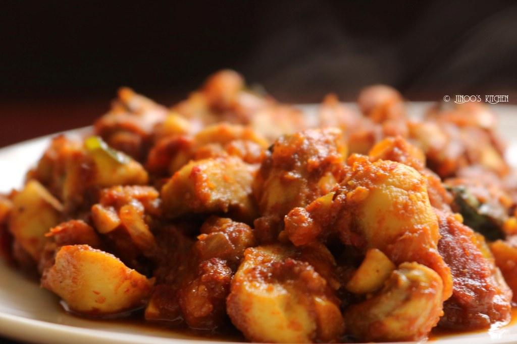 Garlic Mushroom recipe | Chilli Garlic Mushroom fry recipe | Mushroom starters recipe