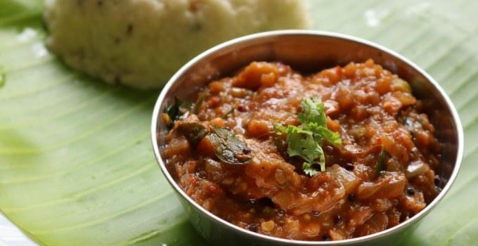 Kathirikkai Gothsu recipe | Chidambaram brinjal gothsu