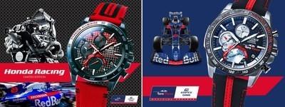 Casio再度攜手本田賽車和F1紅牛二隊 發佈EDIFICE新款手錶