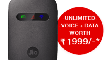 How to get JioFi Data offer