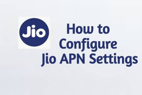 Jio APN Settings