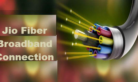 Reliance Jio Fiber broadband Connection